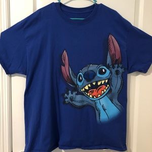 Walt Disney World Stitch Blue Tshirt
